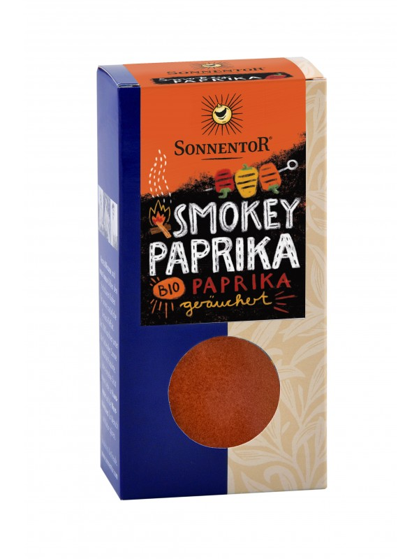 Smokey Paprika Grillgewürz 70g bio
