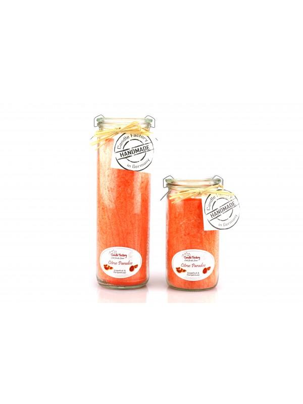 Kerze Mini-Jumbo Citrus Paradise