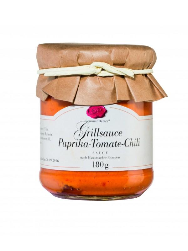 Grillsauce Paprika-Tomate-Chili 180ml