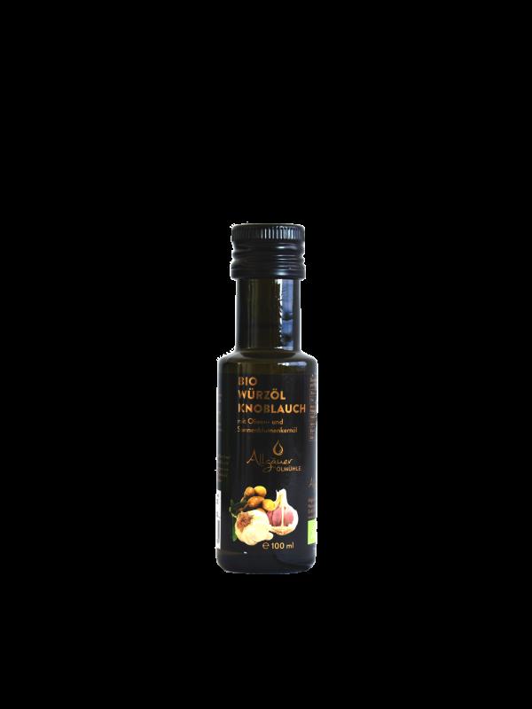 Knoblauch Bio-Würzöl 100ml Allgäuer Öllmühle