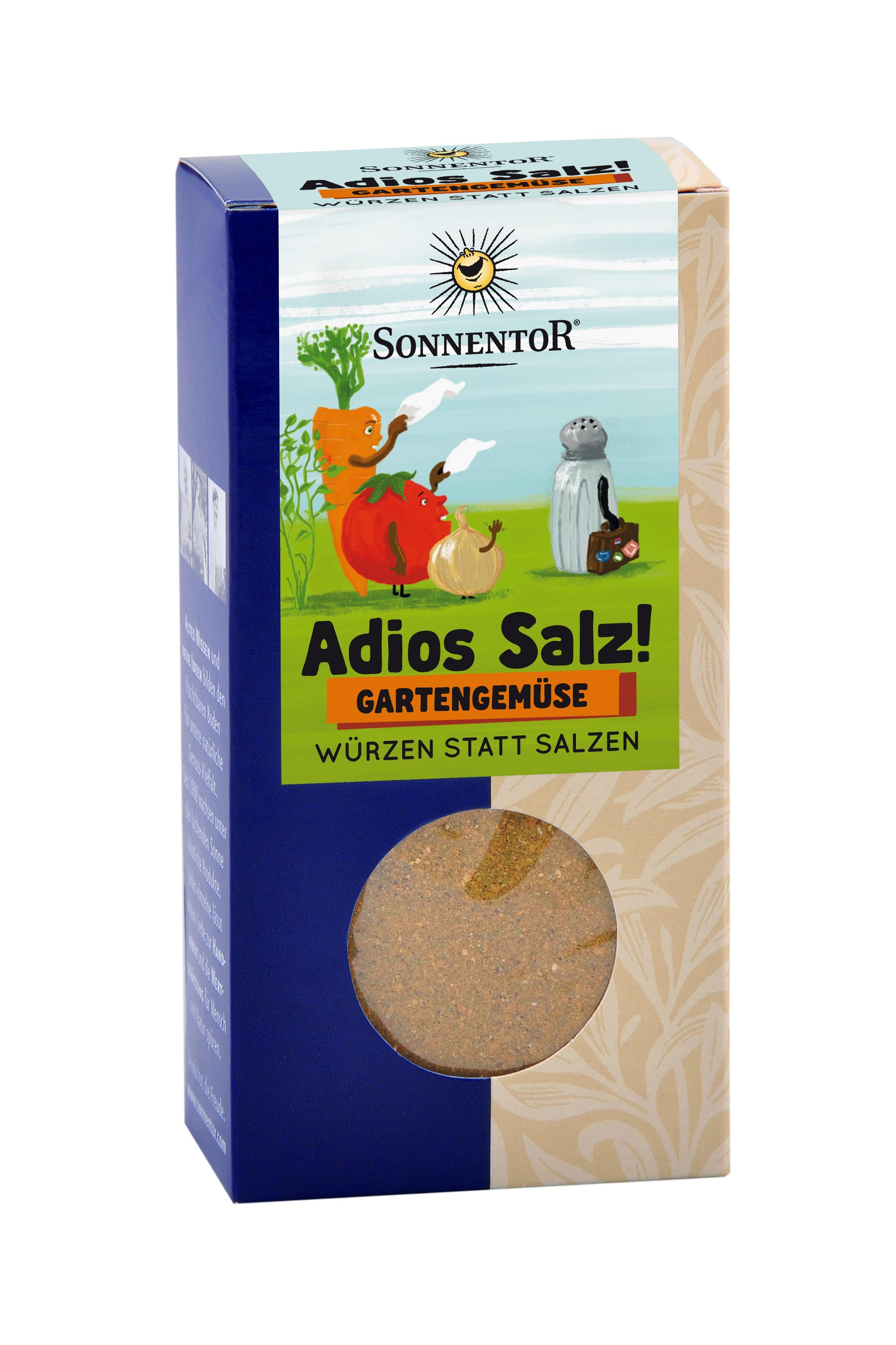 Adios Salz! Gartengemüse Mischung bio, 60g