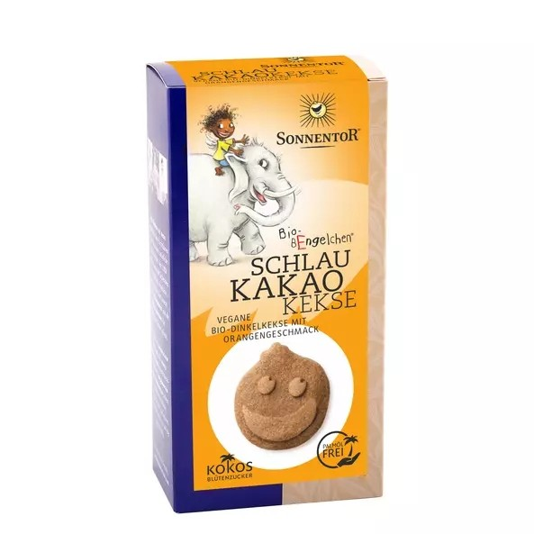 Schlaukakao Kekse m. Kokosblütenzucker 125g