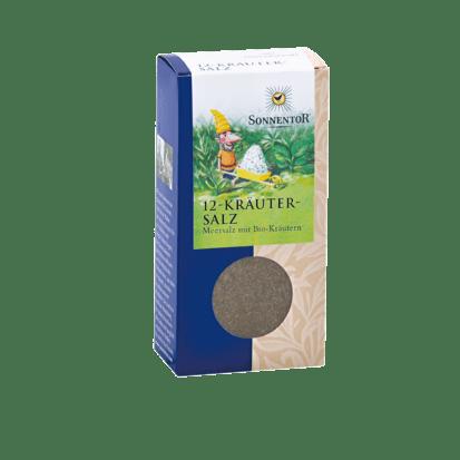12-Kräutersalz Bio-Meersalz-Kräutermischung 120 g Sonnentor