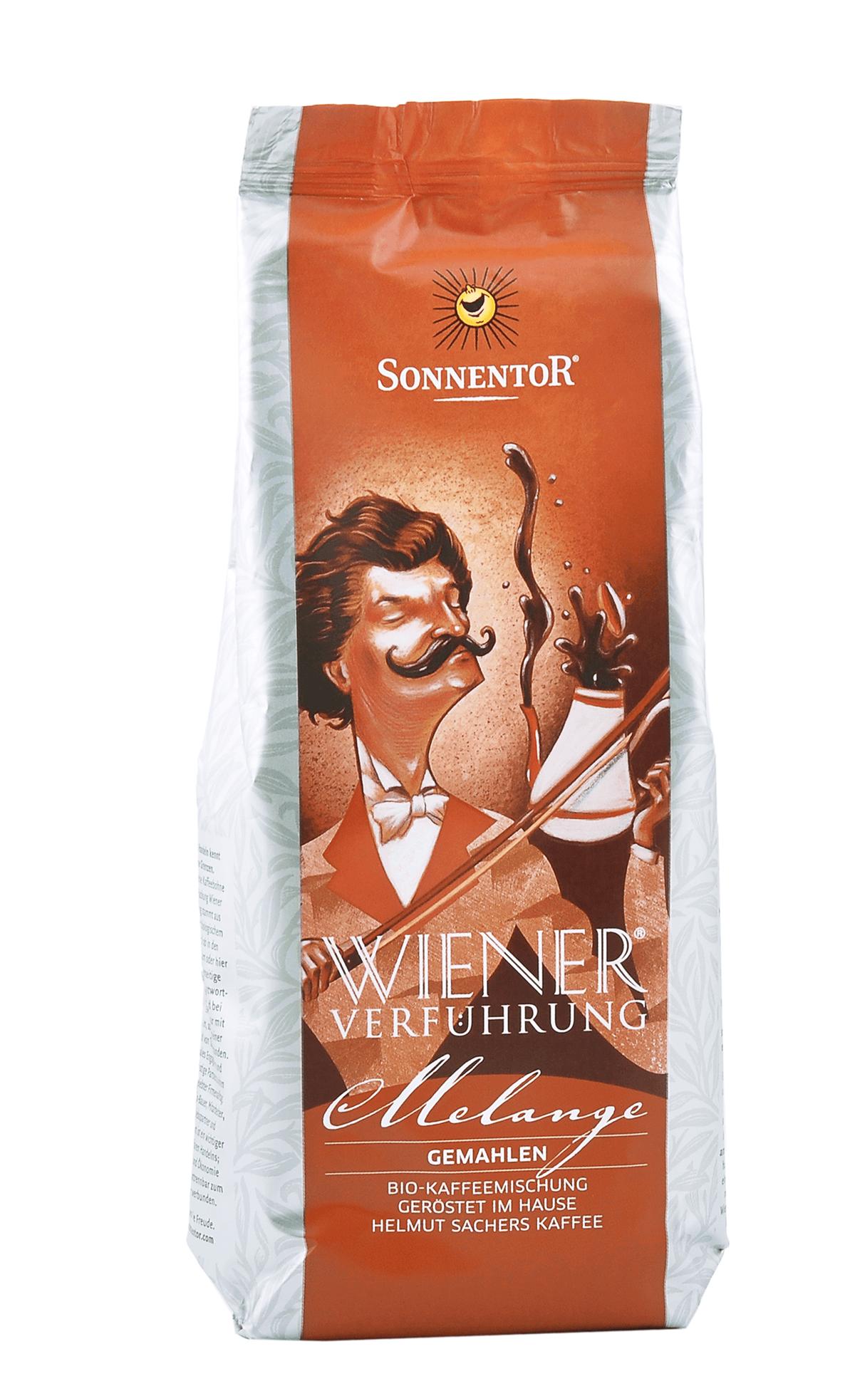 Melange Kaffee gemahlen 500g bio