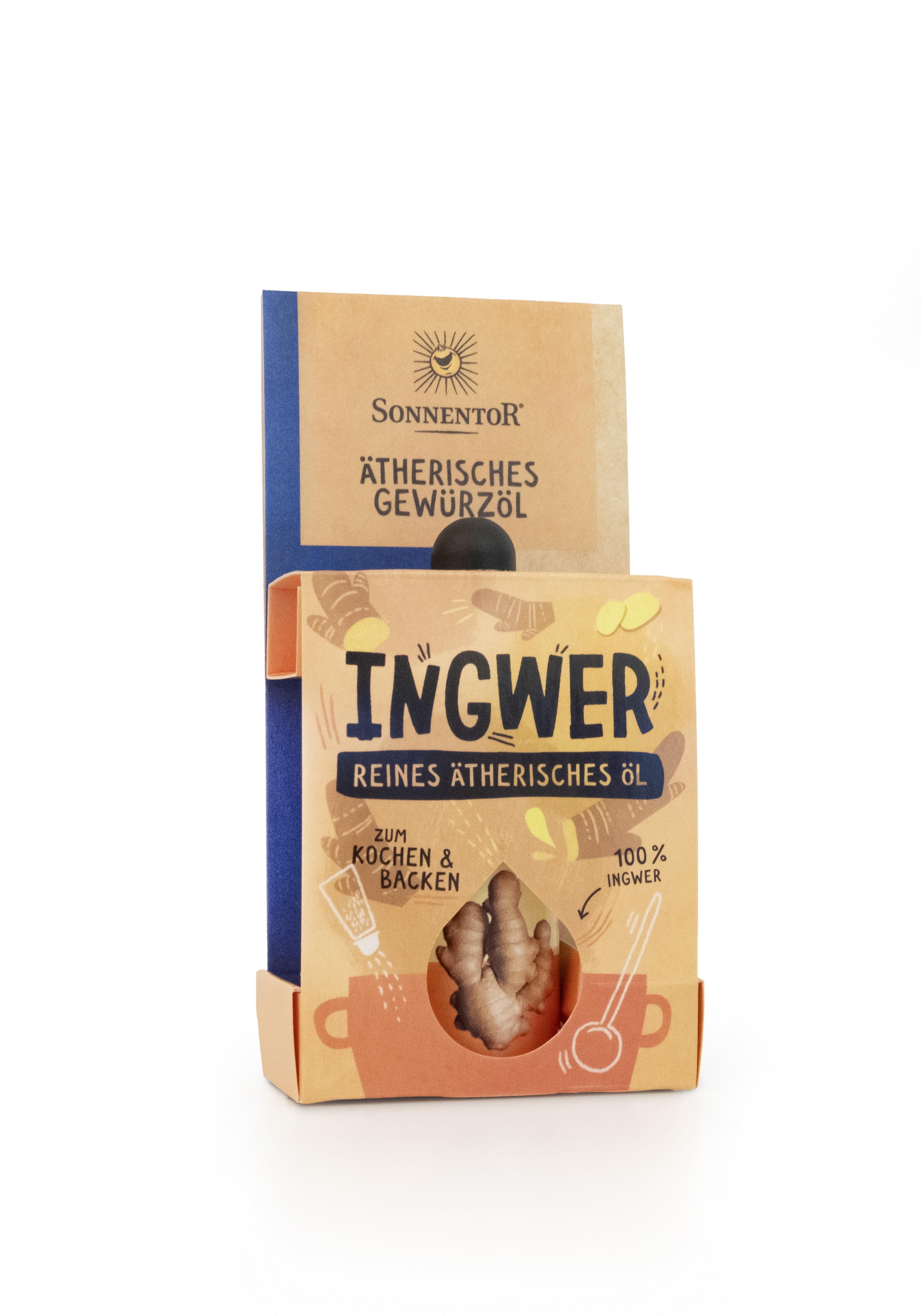 Ingwer ätherisches Gewürzöl 4,5ml bio