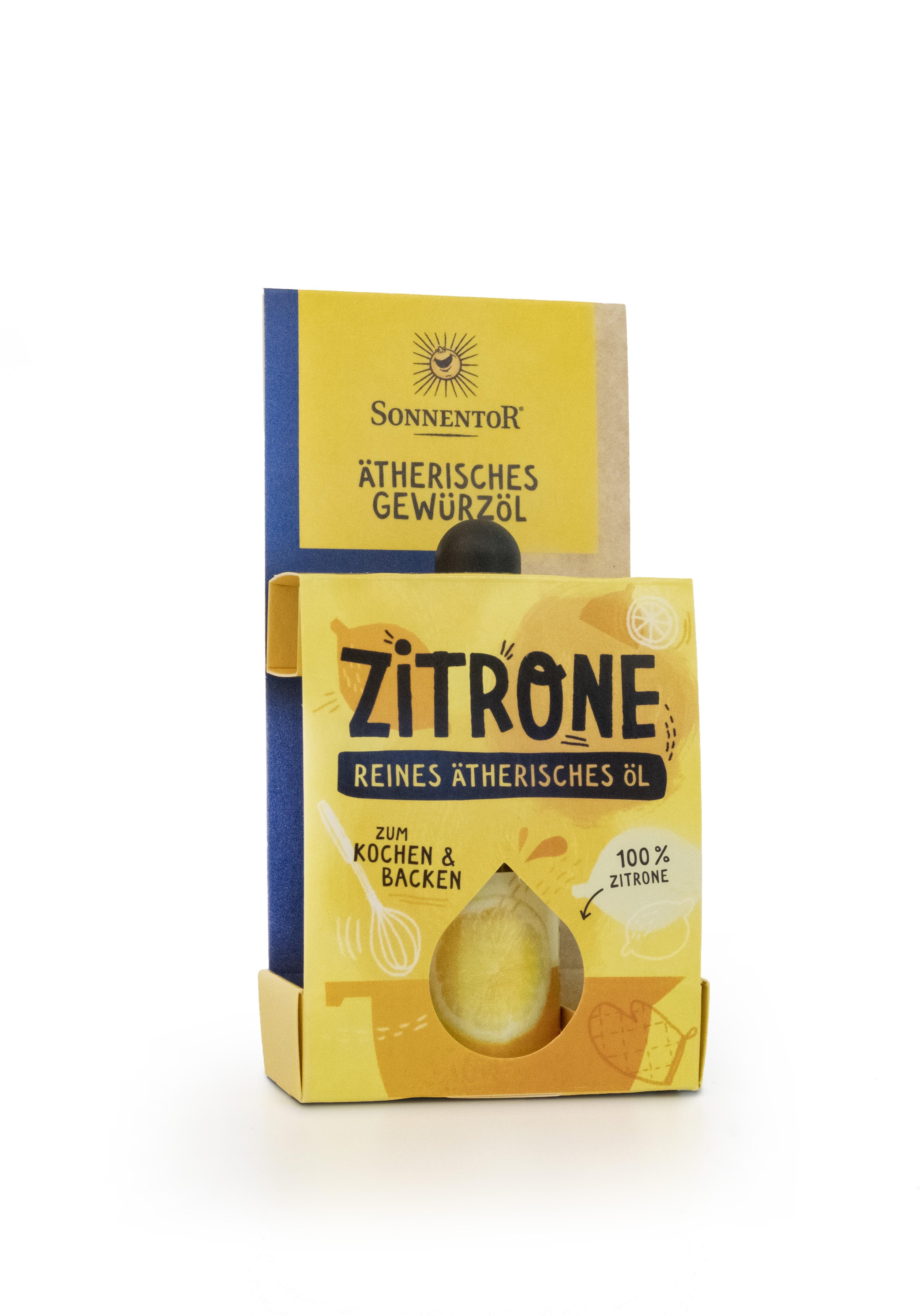 Zitrone ätherisches Gewürzöl 4,5ml bio