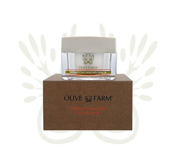 Gesichtscrème mit Olivenöl 50 ml Olive farm