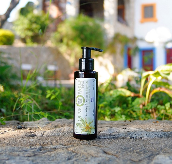 Massage- und Körperöl mit Ylang-Öl 100 ml Olive farm