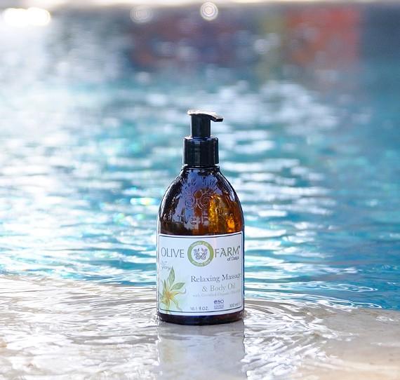 Massage- und Körperöl mit Ylang-Öl 300 ml Olive farms