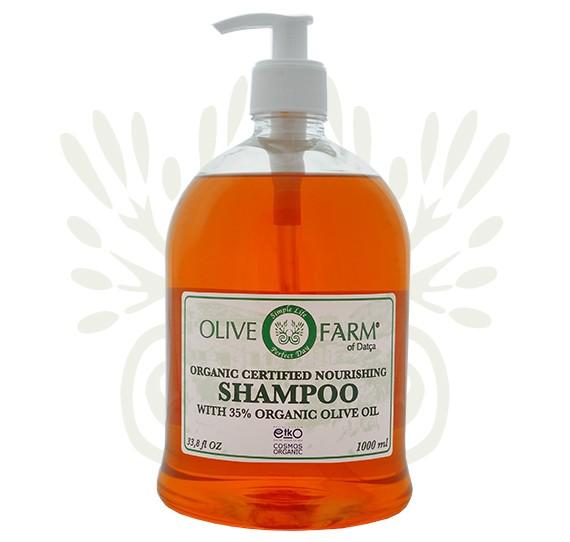 Shampoo mit 35% Olivenöl 1000 ml Olive farm