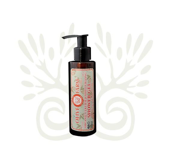 Duschgel mit 22% Mandelöl 100 ml Olivefarm