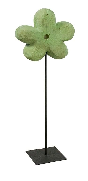 Holz Blume Pappel mint 130x45cm