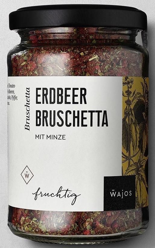 Erdbeer Bruschetta 65g – Würzmischung mit Minze