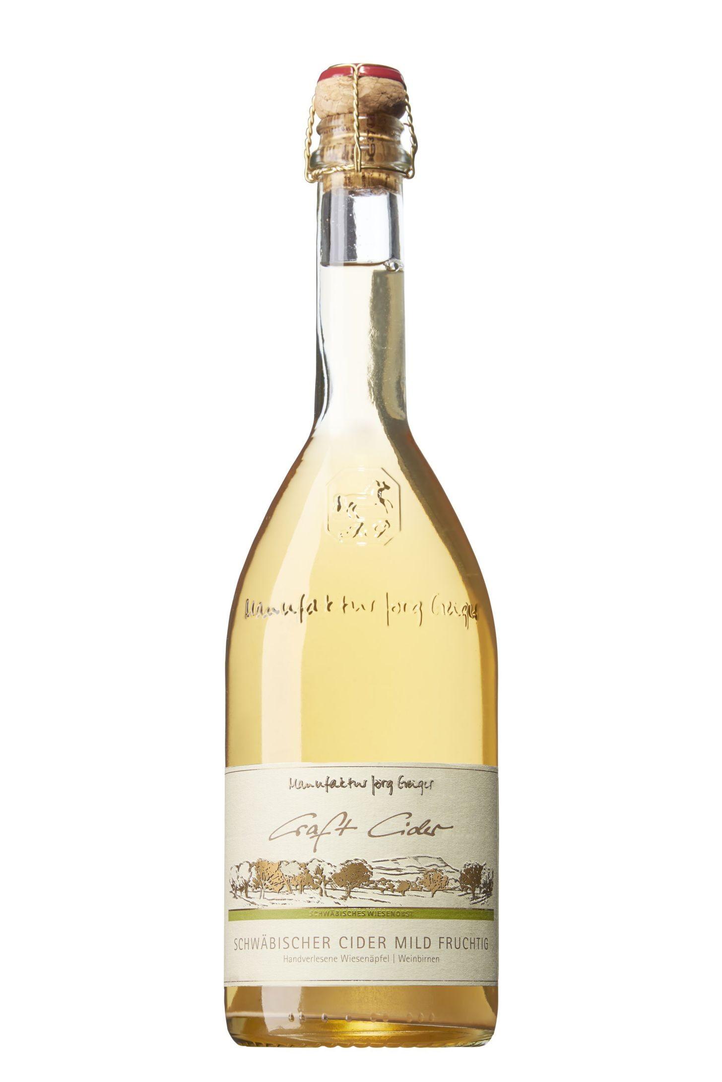 Schwäbischer Craft Cider mild - CC 750ml 3,5 % vol