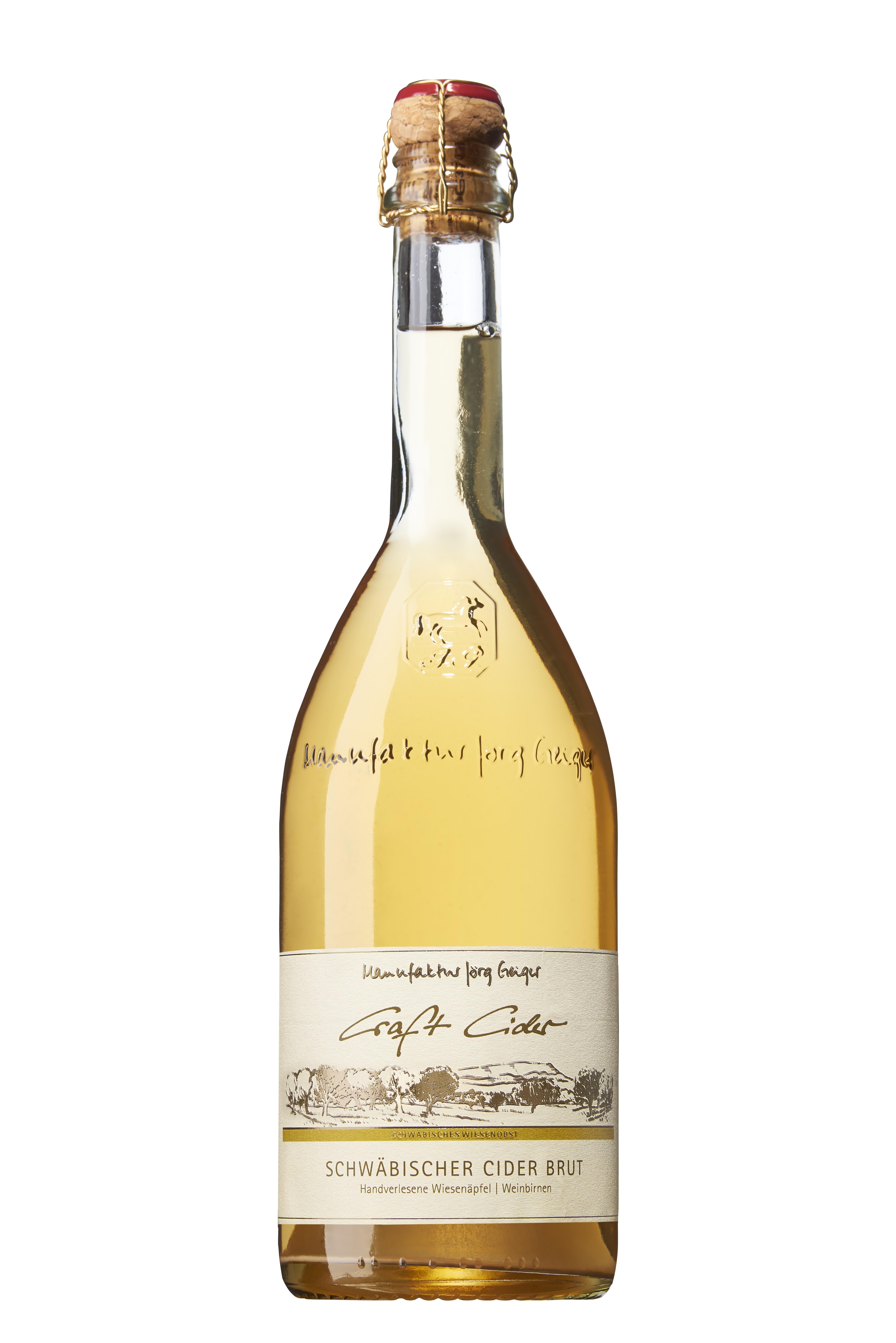 Schwäbischer Craft Cider brut - CC 750ml 6% vol.