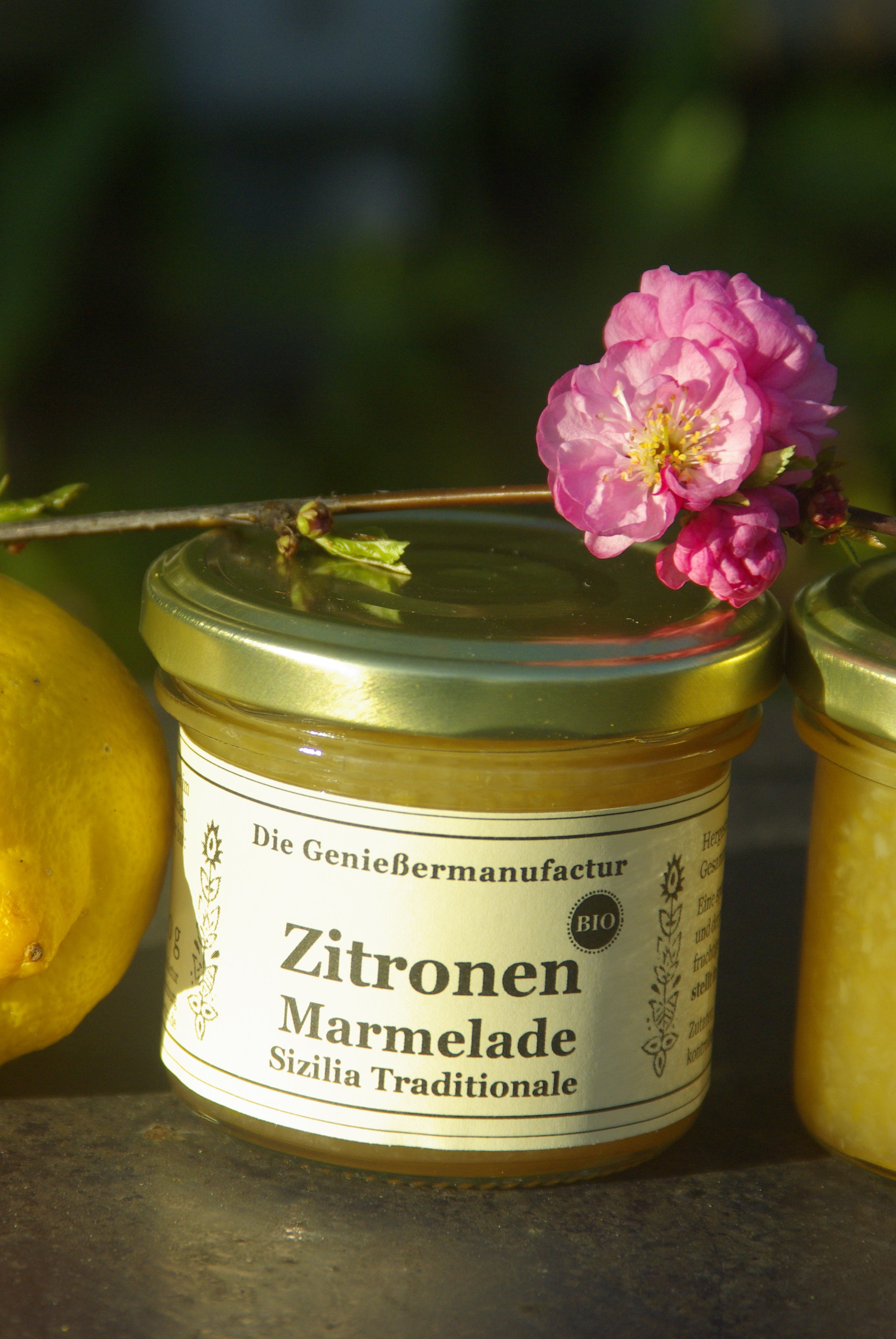 Zitronenmarmelade a lá siciliana Bio 120g