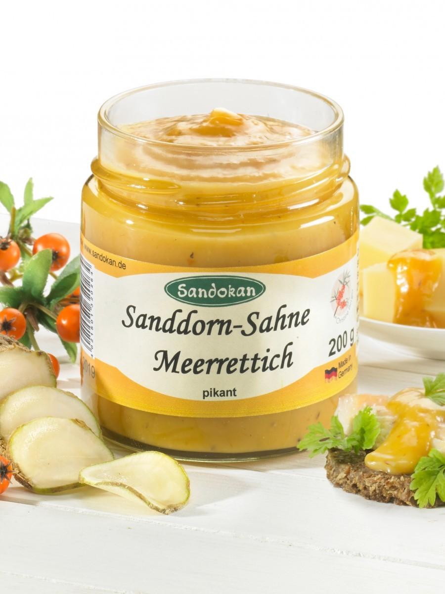 Sahne-Meerrettich Sandorn 200g
