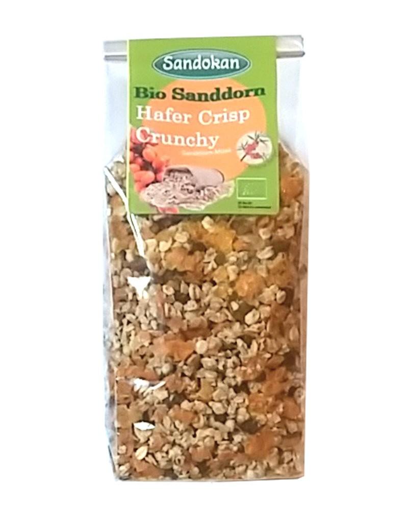 Hafer-Crisp Crunchy Bio-Sanddorn 250g