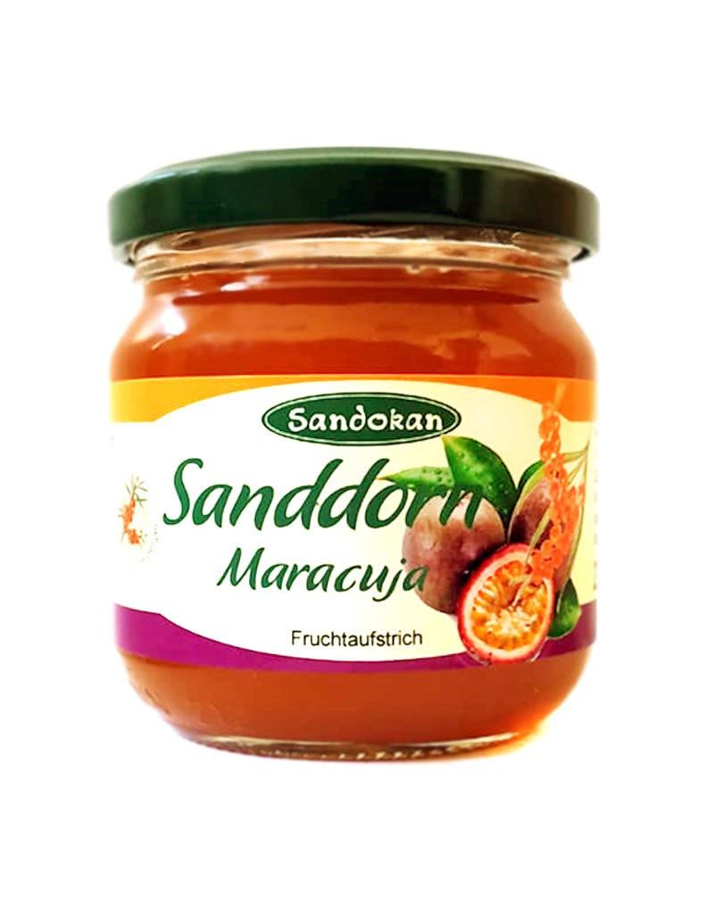 Maracuja-Sanddorn Fruchtaufstrich 215g
