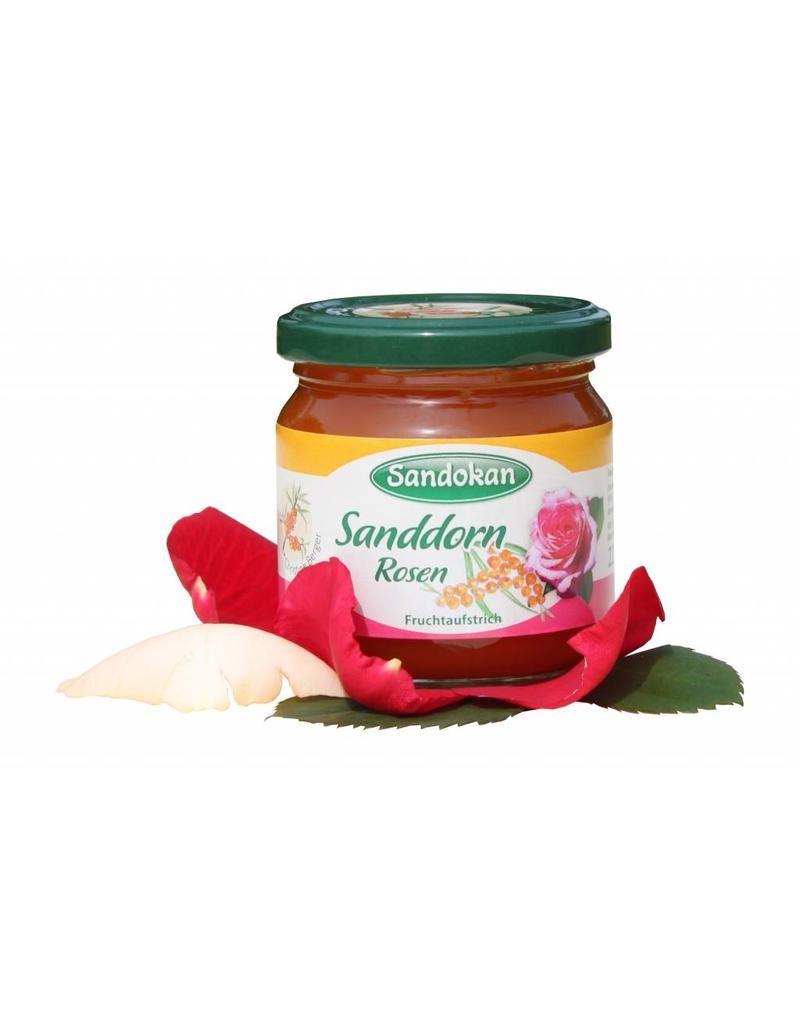 Rosen-Sanddorn Fruchtaufstrich 225g