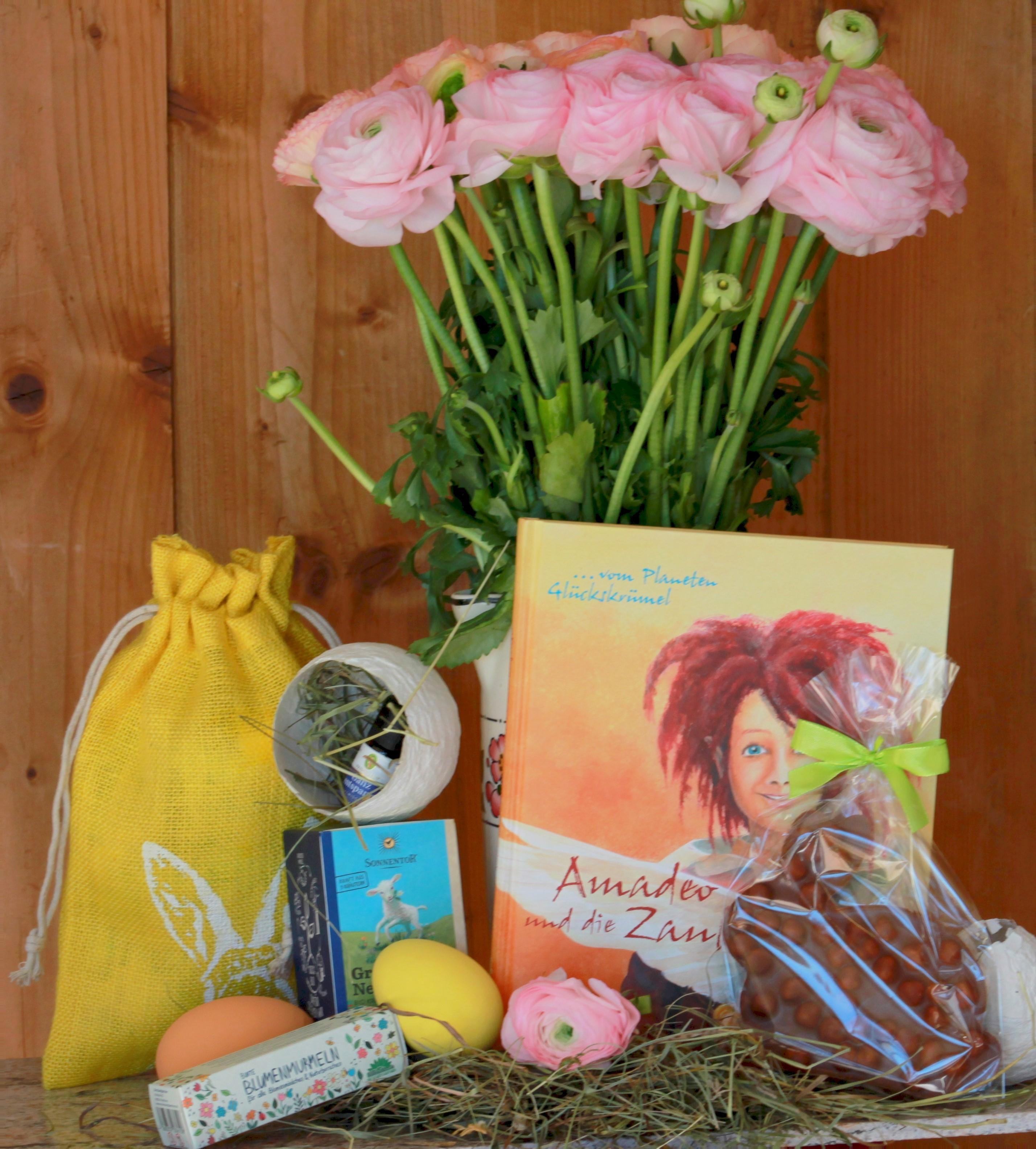 """Osterpaket """"Amadeo und die Zauberflügel"""" Buch von 5-105 Jahren"""
