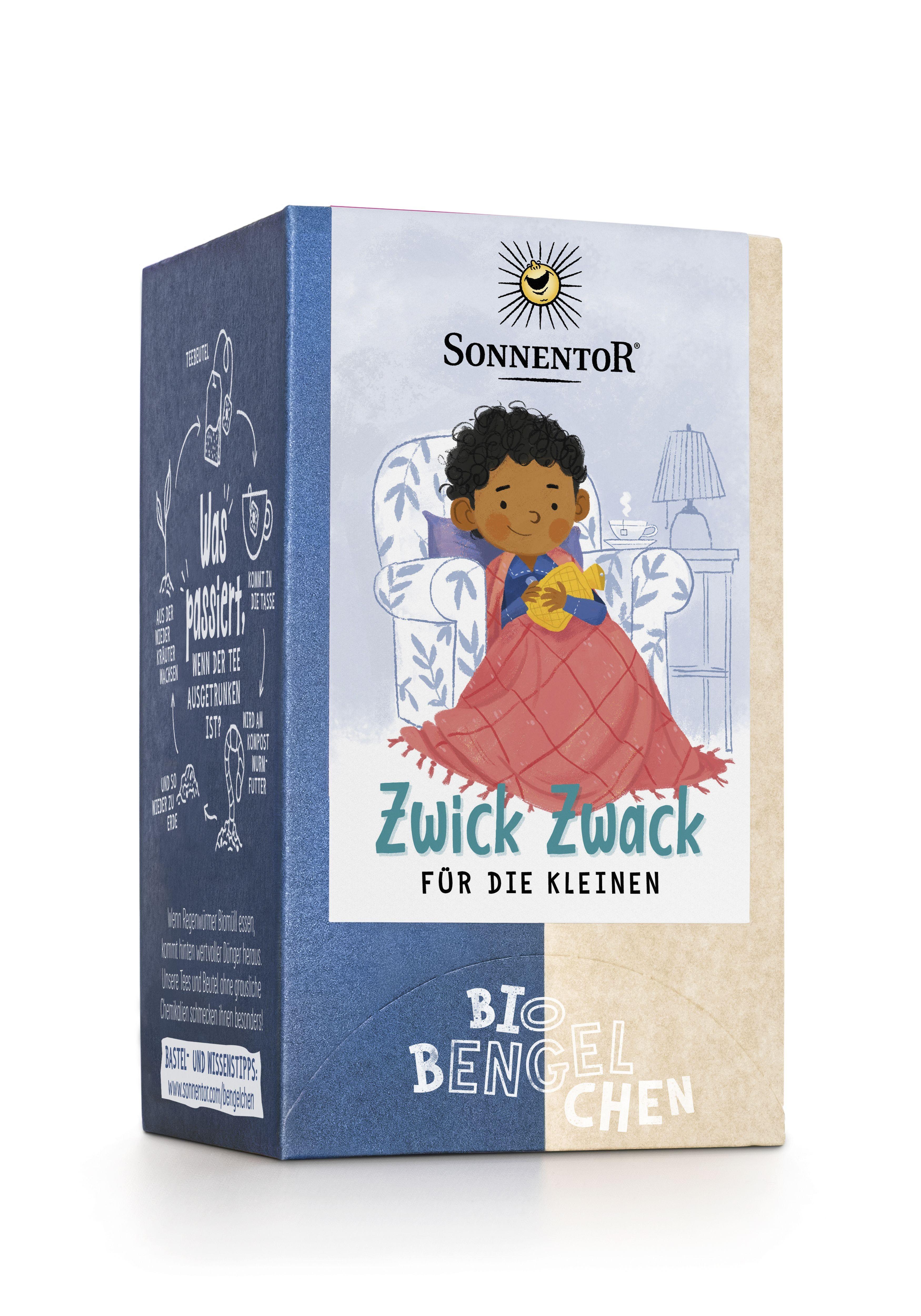 Zwick Zwack für die Kleinen Tee 21,6 g bio