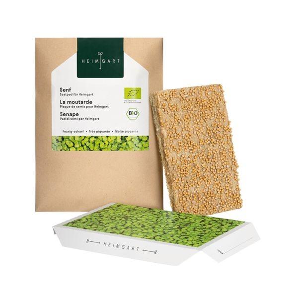 Senf Saatpads für Microgreens 30 g