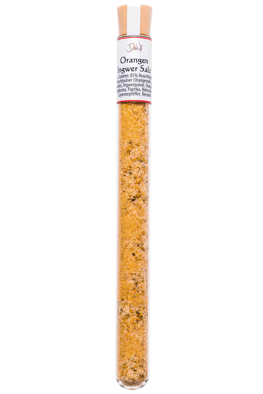 Orangen-Ingwer Salz 18g