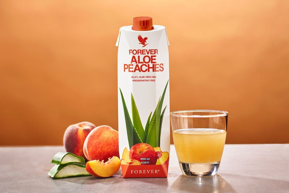 Aloe Peaches FOREVER 1ltr.
