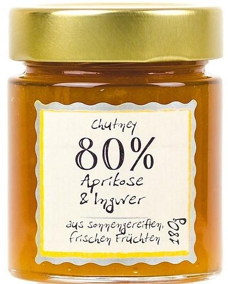 Aprikosen & Ingwer Chutney 80% 180g