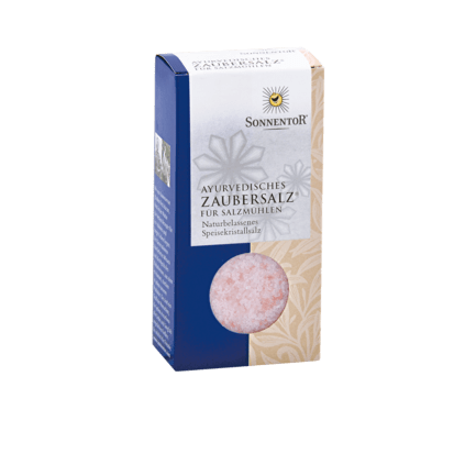 Ayurvedisches Zaubersalz grob für Salznühle 150 g Sonnentor