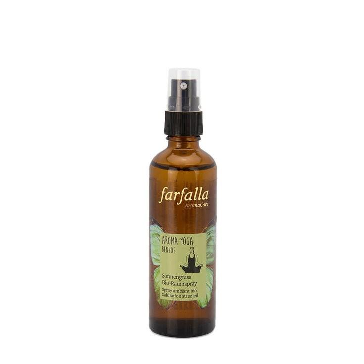 Bio-Raumspray Aroma Yoga Benzoe 75 ml Farfalla