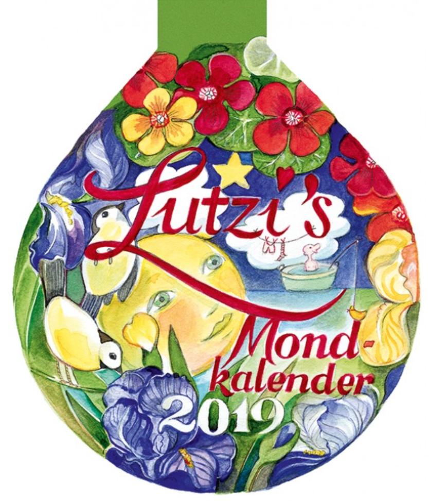 Lutzi's Mondkalender Rund 2019 2 zum Preis von 1 Kalender