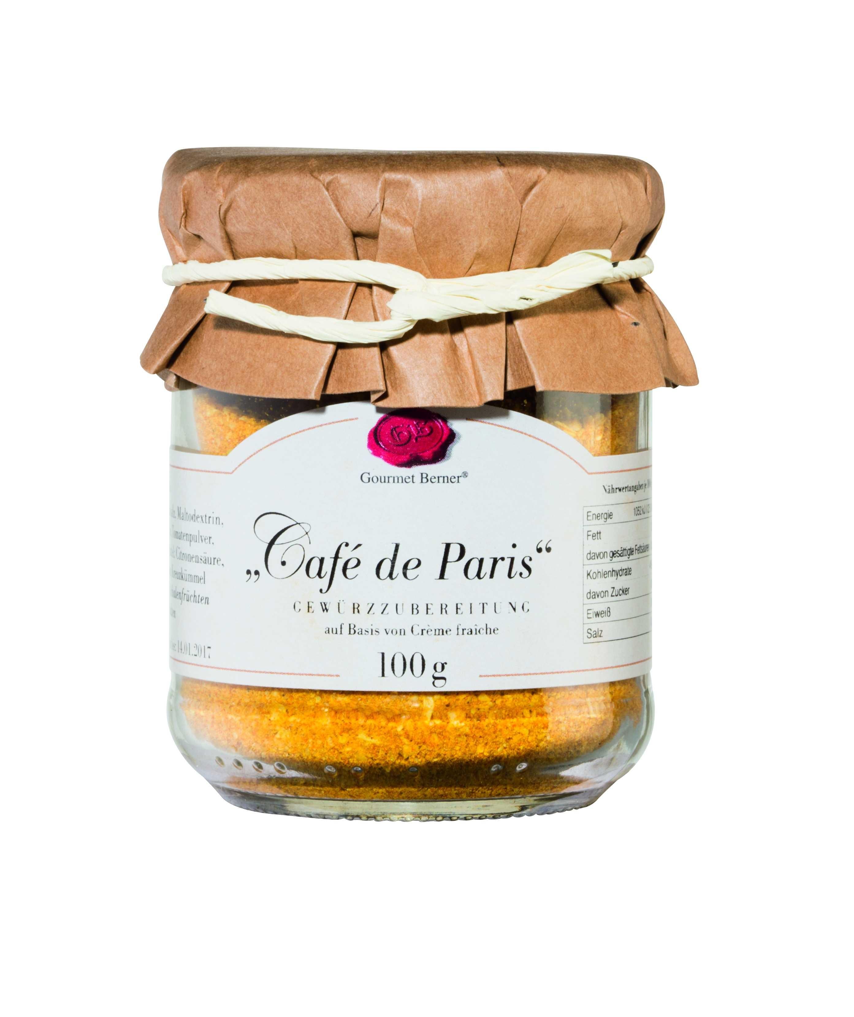 Café de Paris im 100g Glas