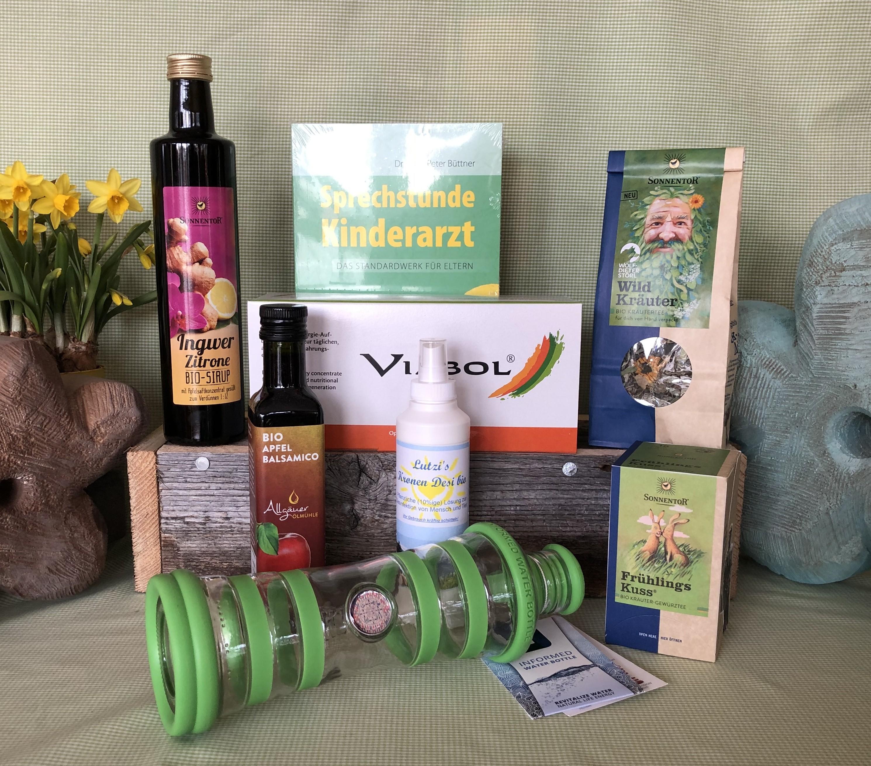 Gesundheitsbox von Lutzi (Geschenkbox)