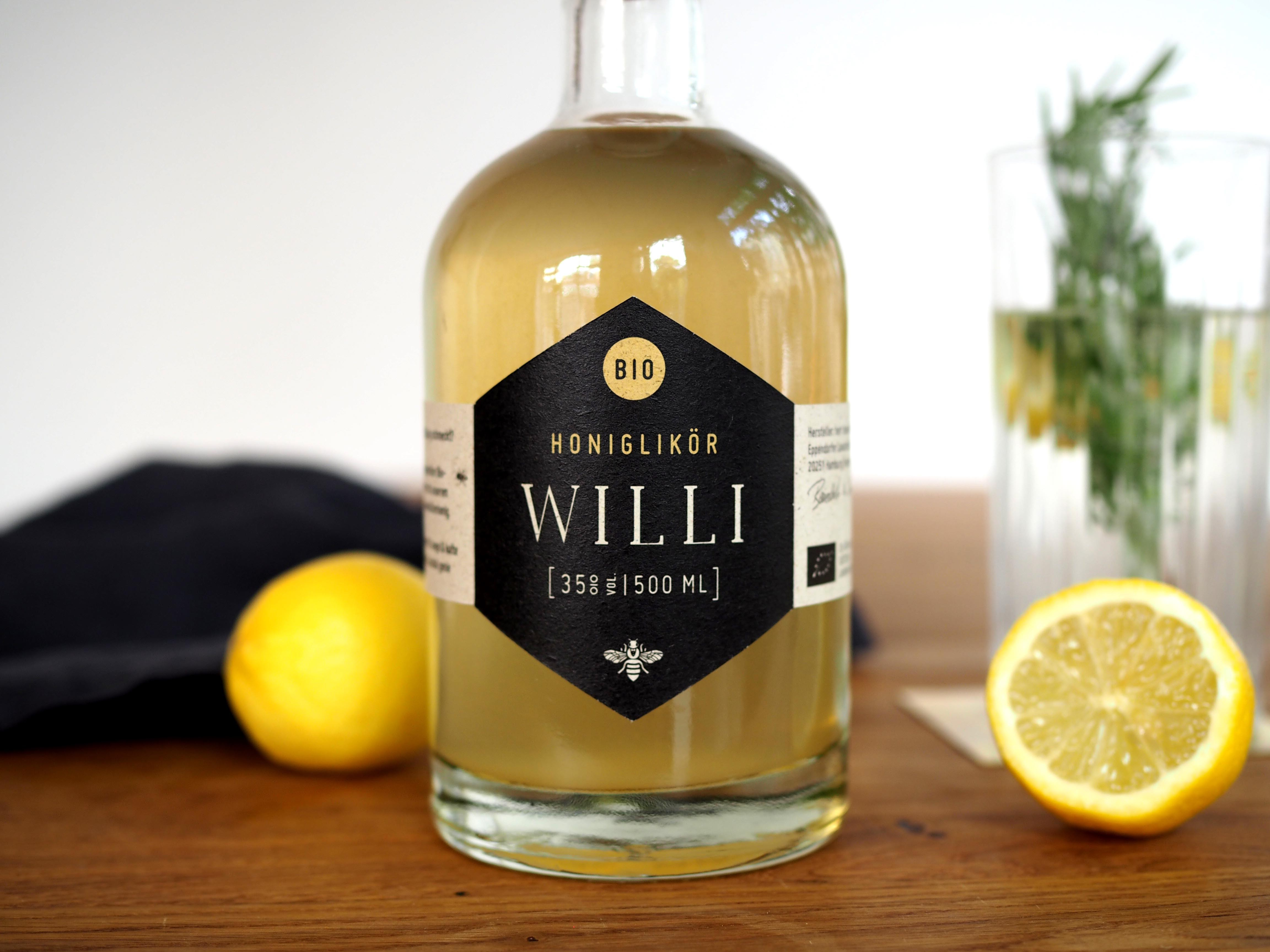 Willi Bio-Honiglikör 35% vol. 500ml aus Hamburg