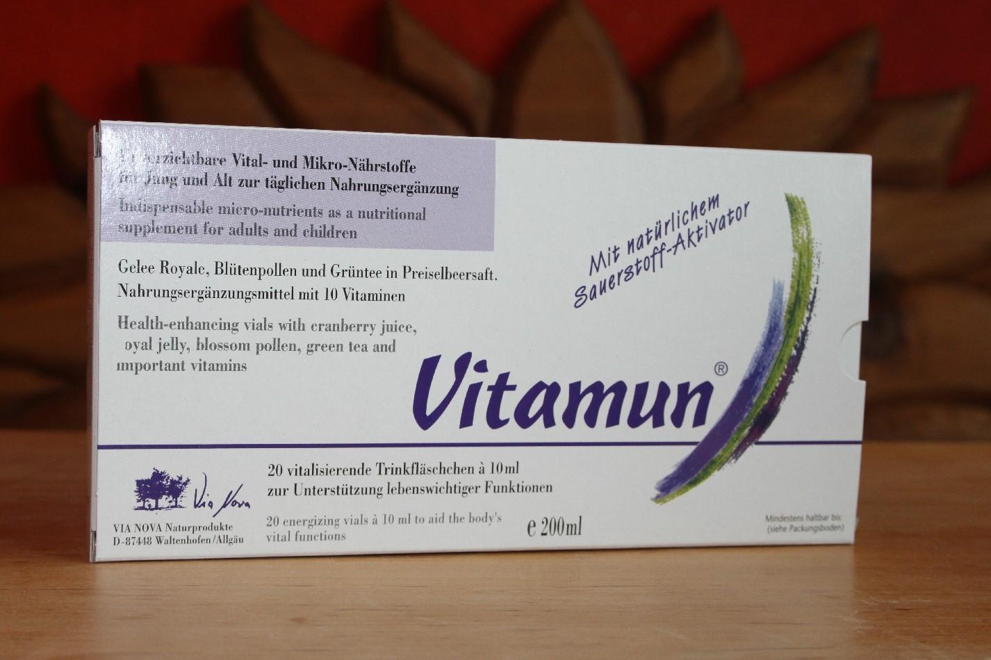 Vitamun - Kraftpaket aus der Naturohne Alkohol 20 Ampullen