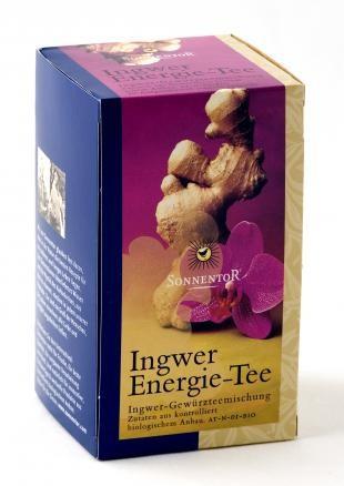 Ingwer Energie-Tee bio, Beutel