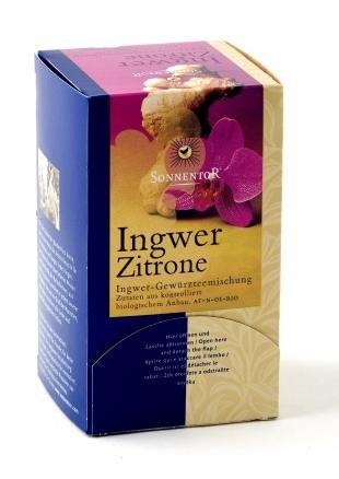 Ingwer-Zitronen-Tee bio, Beutel