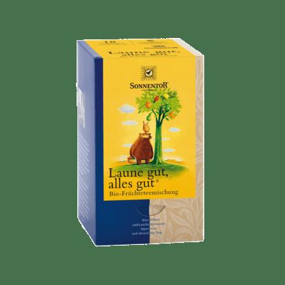 Laune gut, alles gut Früchtetee - mit Vanilleextrakt bio