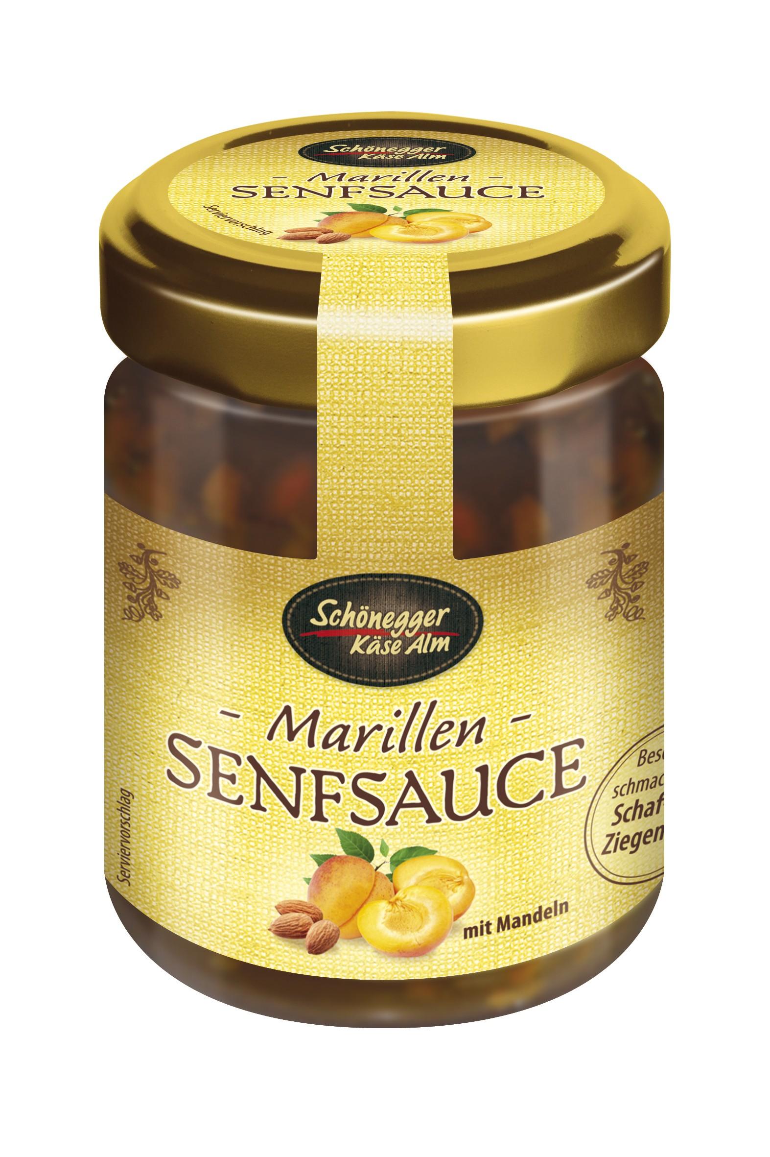 Marillen-Senfsoße mit Mandeln 180g