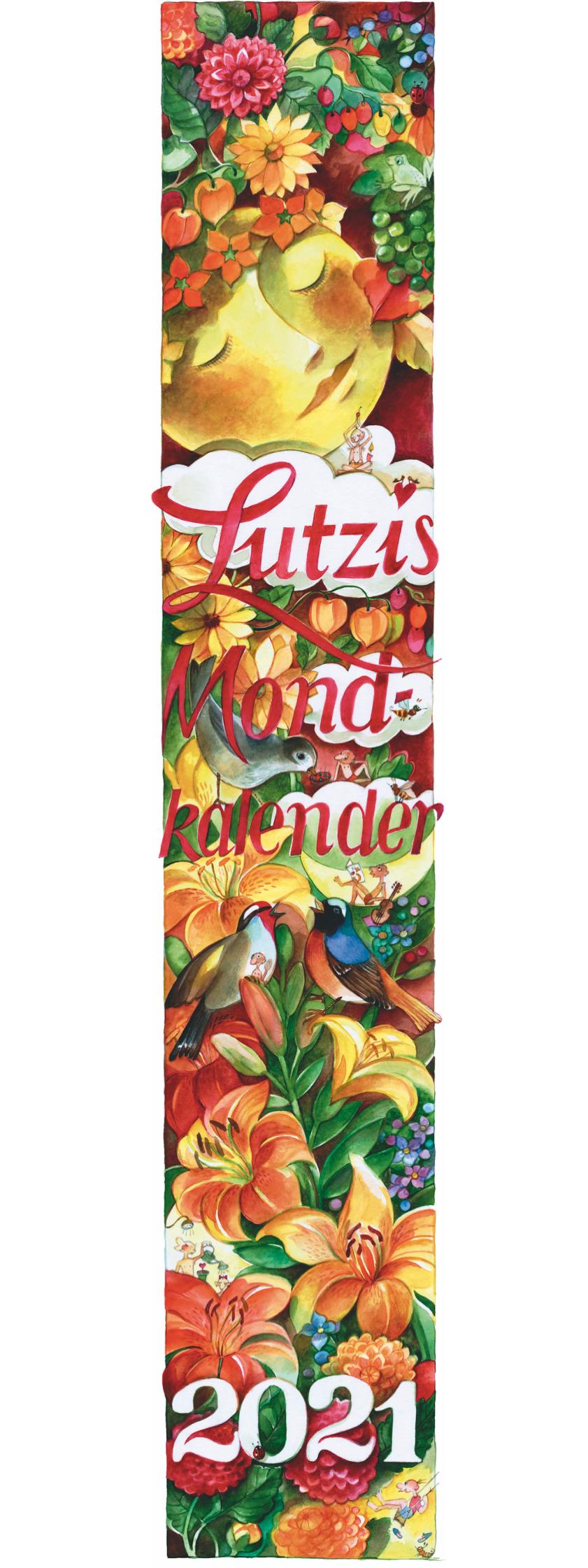 Lutzi's Mondkalender Lang 2021