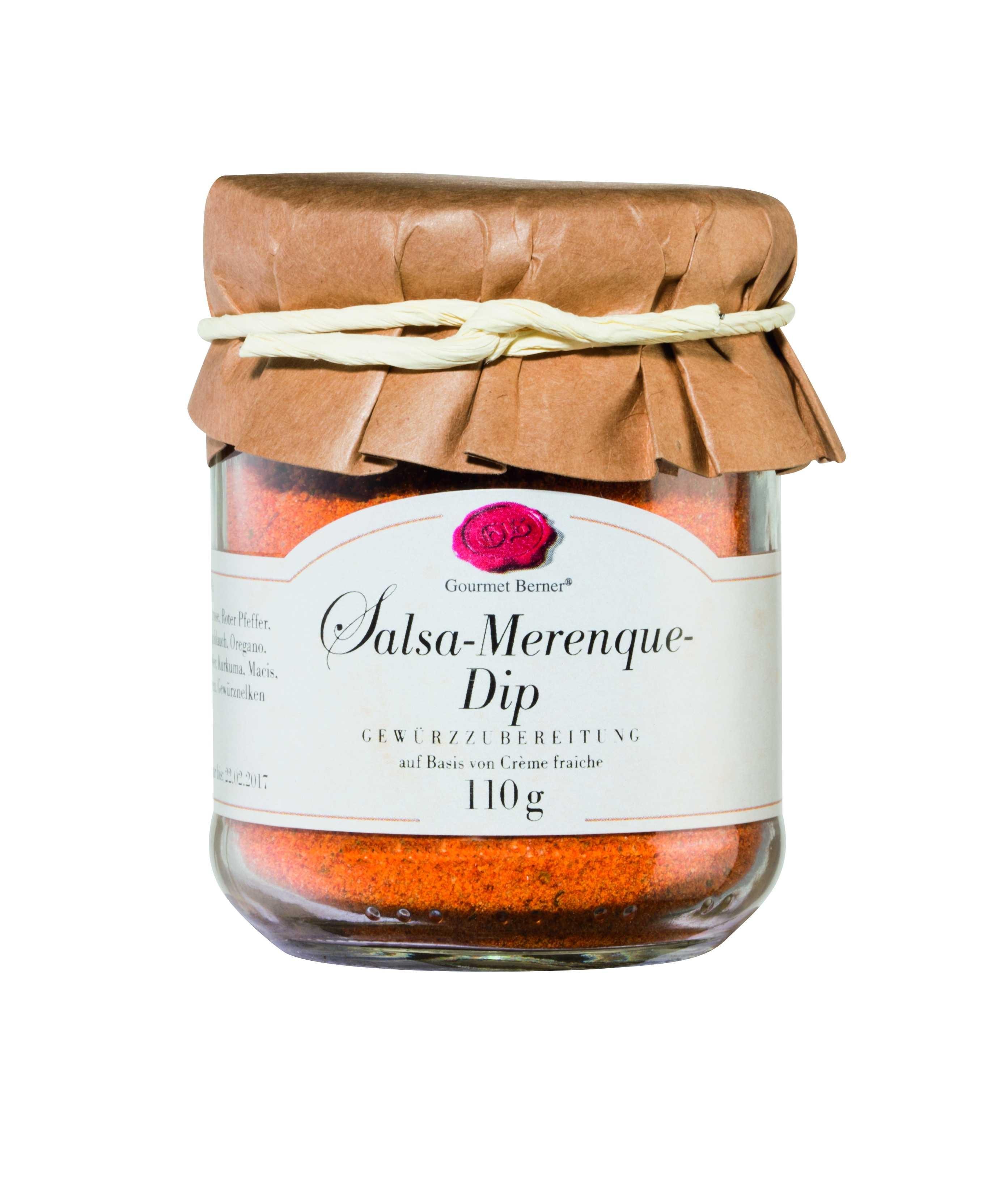 Salsa Merengue Dip im 110g Glas