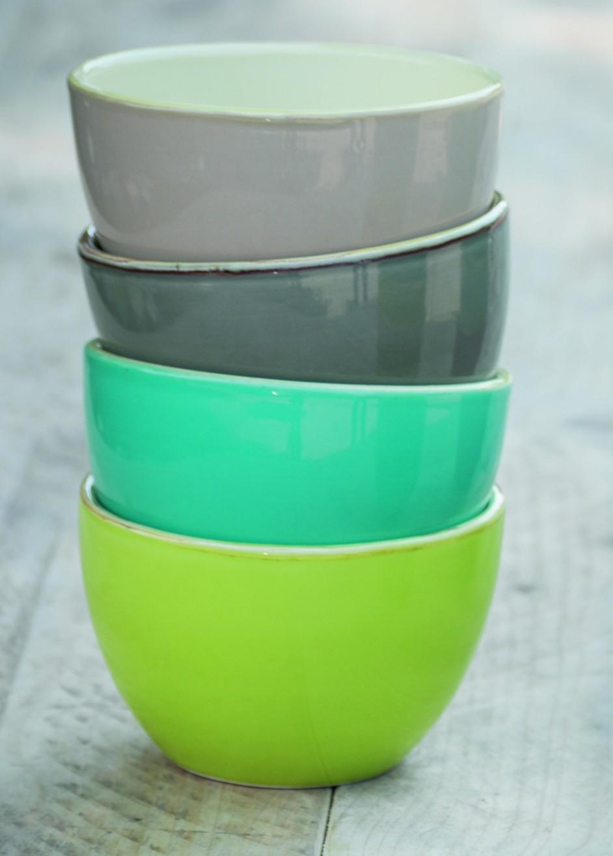 Schale 13cm olivgrün