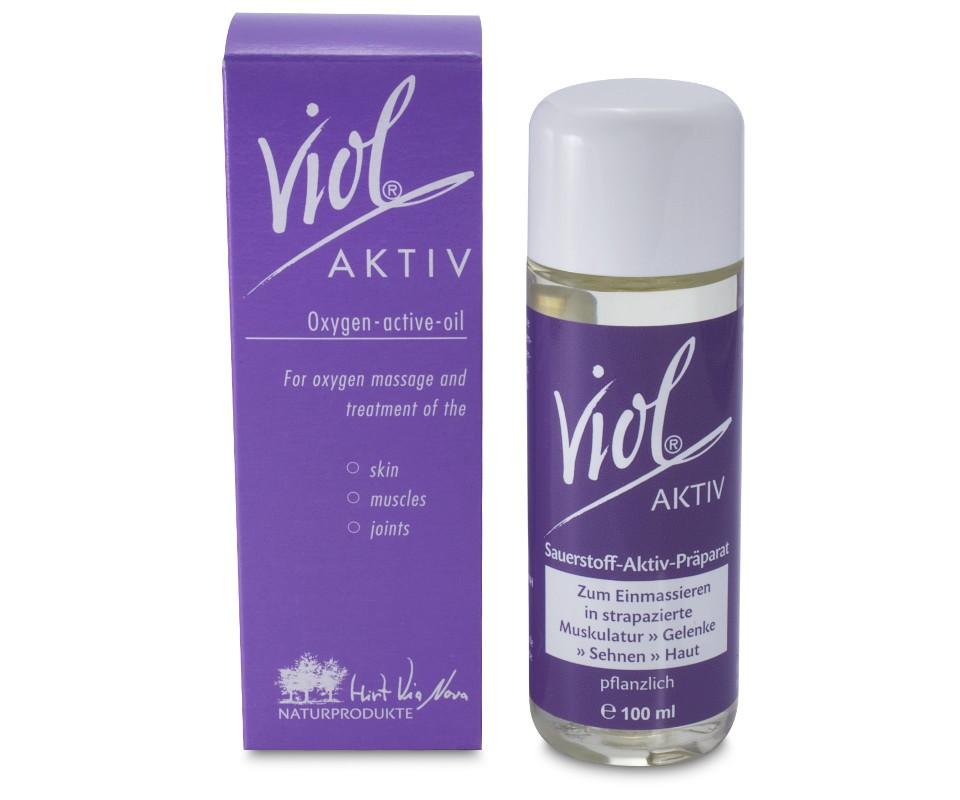 Viol aktiv 100ml Sauerstoff bedeutet Vitalität