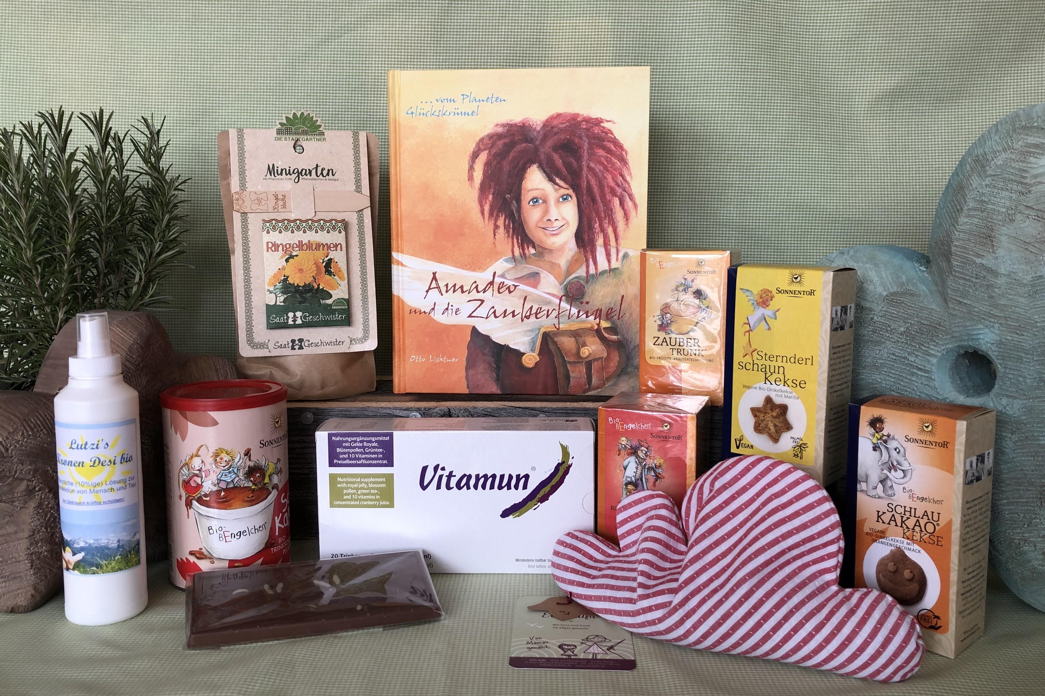 Zwergerlbox von Lutzi (Geschenkbox)